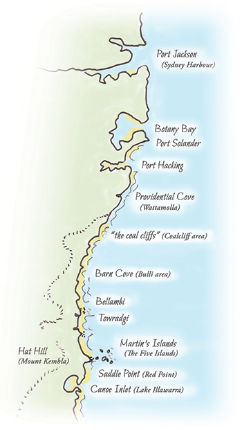 Tom Thumb II journey - map