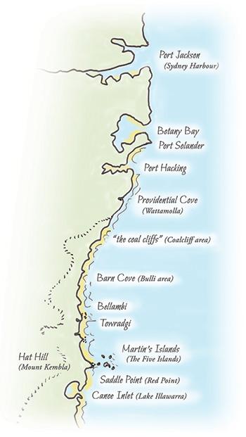 Tom Thumb II journey - map