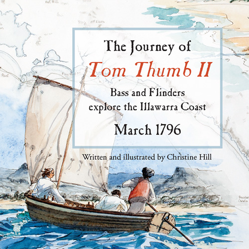 The journey of Tom Thumb II - Book cover