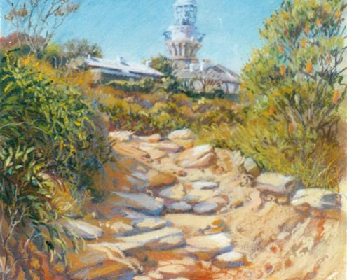 Barrenjoey lighthouse path