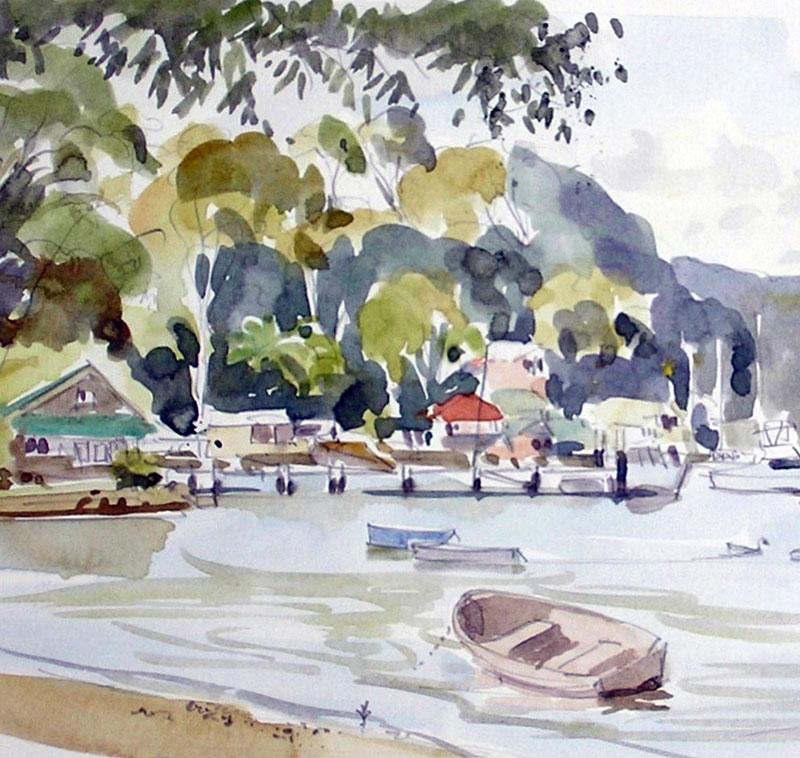 Careel Bay Wharf 2