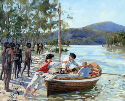 The Journey of Tom Thumb II - 'At Canoe Inlet'