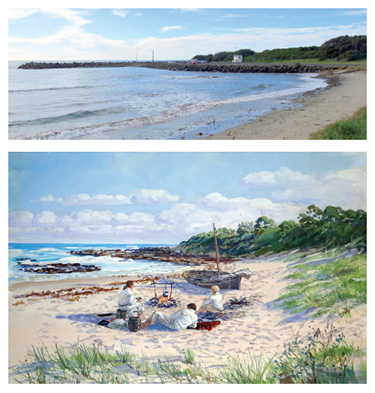 Bellambi Beach then and now